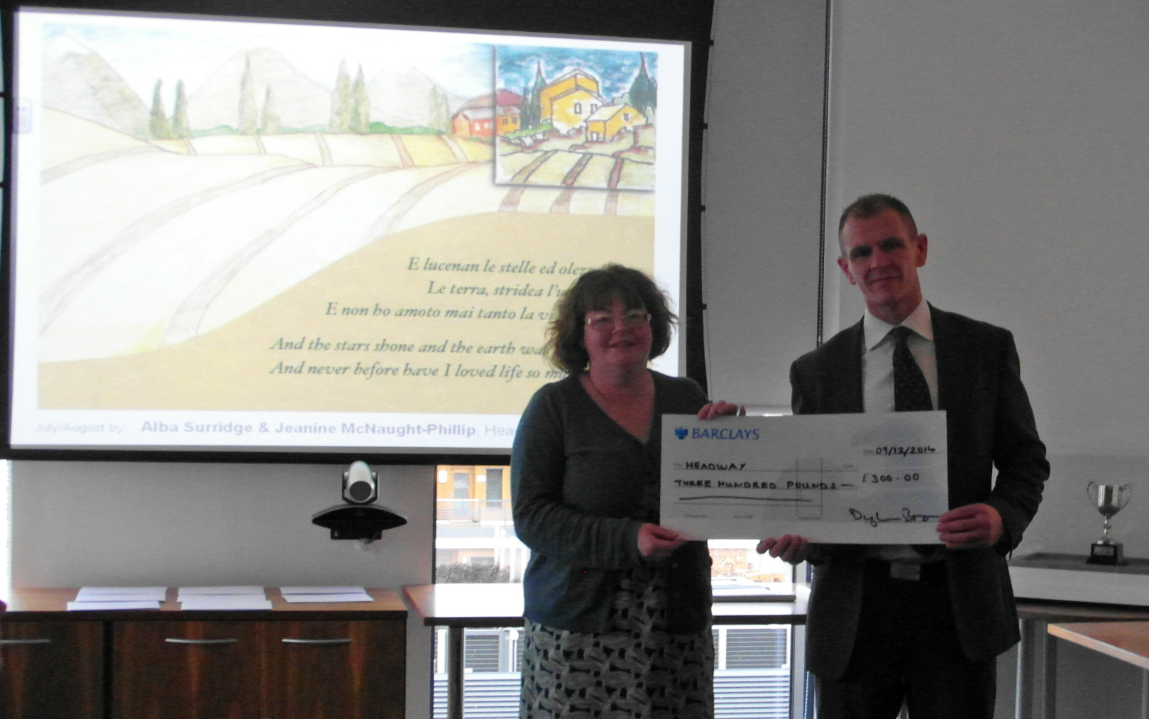 East lothian cheque c